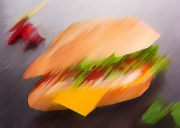 Legendary chicken sandwich